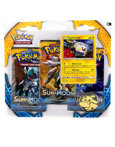 Pokemon TCG Sun & Moon 3 Pack Blister Pack