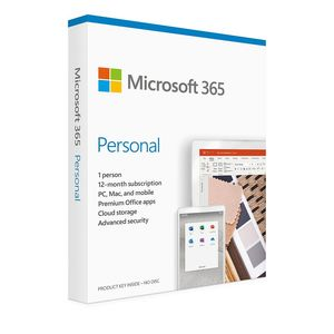 Microsoft 365 Personal (12 Month Subscription)