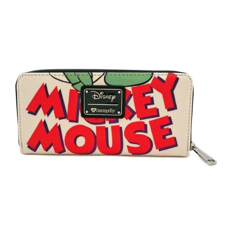 Loungefly Mickey Mouse Classic Zip Around Wallet