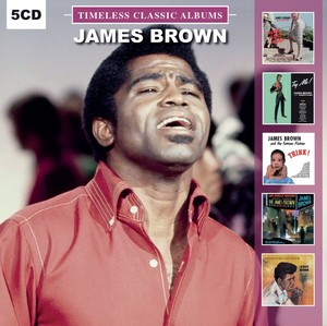 James Brown Timeless Classic Albums [5 Disc Set]