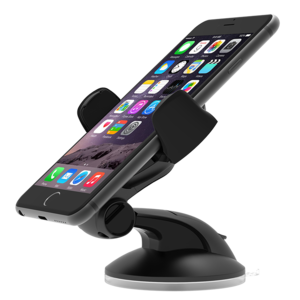 Iottie Easy Flex 3 Universal Car Mount Holder & Desk Mount Holder Black