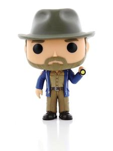 Funko Pop Stranger Things Hopper With Flashlight