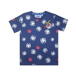 Marvel Spiderman Repeat Print Reflective Kids' T-Shirt