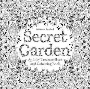 Secret Garden An Inky Treasure Hunt Colouring Book