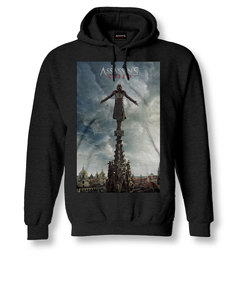 Assassin's Creed Tower Black Over The Head Hoodie