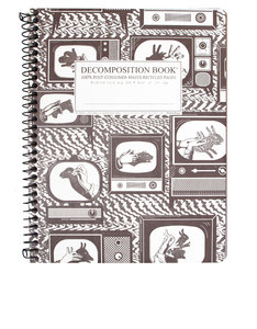 Decomposition Notebook Shadow Puppts One Color [Large]