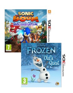 Sonic Boom Shattered Crystal + Disney Frozen [Bundle]