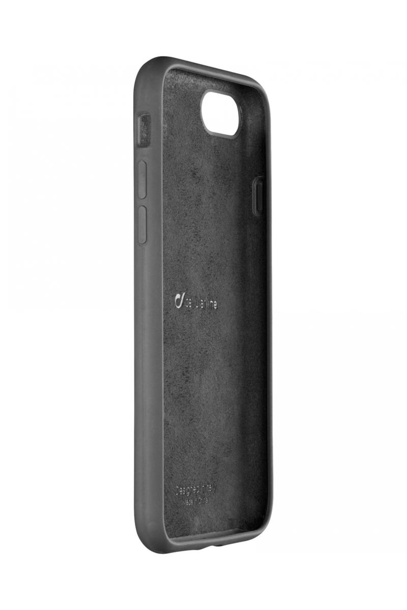 vari colori 2333a 8ce82 Cellular Line Soft Touch Case Black For iPhone 8/7