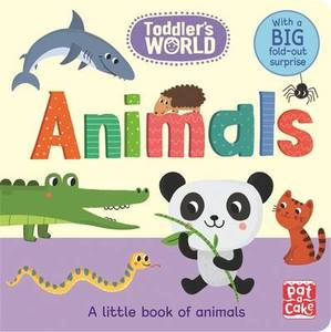 Animals: A Little Board Book of Animals with a Fold-Out Surprise