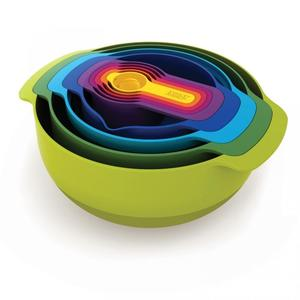 Joseph Joseph Nest Plus Multi-Colour Kitchenware [Set of 9]