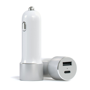 Satechi Aluminum Type-C USB Car Charger Silver