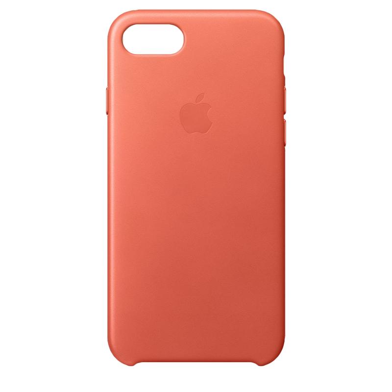 wholesale dealer 6c59b 8323a Apple Leather Case Geranium For iPhone 8/7