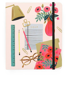 Rifle Paper Co Desktop 2017 Planner
