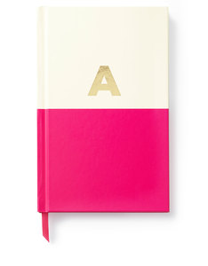 Kate Spade Dipped Initial Collection A Journal