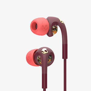 Skullcandy Bombshell Floral/Burgundy/Rose Gold Earphones