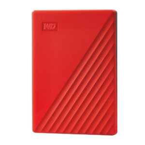 WD My Passport 2TB HDD Red