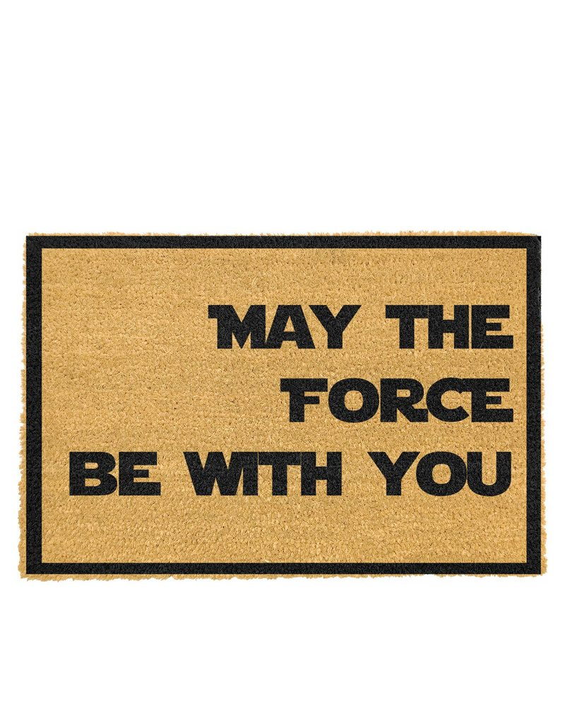 Artsy Doormat May the Force be with You