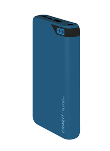 Cygnett ChargeUp Boost 15000mAh Navy Power Bank