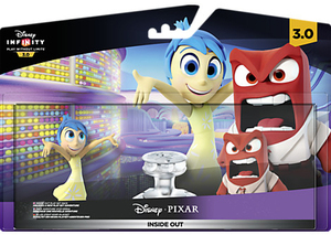 Disney Infinity 3 Inside Out Joy & Anger Playset