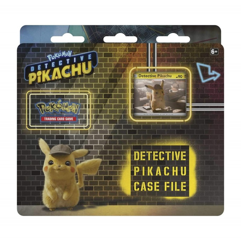 Pokemon Tcg Trading Cards Detective Pikachu Case File 3 Pack