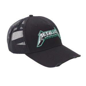 Metallica Master of Puppets Trucker Men's Cap Charcoal