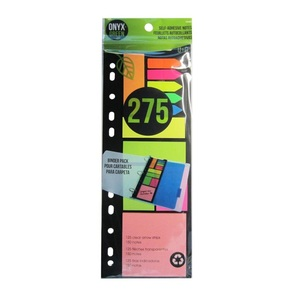 Onyx + Green Combo Pack Arrow Strips Sticky Notes