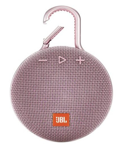 JBL Clip 3 Pink Portable Bluetooth Speaker