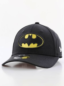 New Era Essential Batman Youth Boys Cap Black