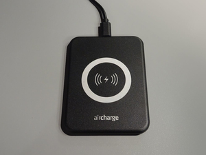 Aircharge Slimline Black Wireless Charger