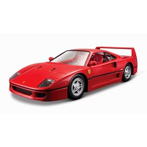BBurago Ferrari F40 Red 1/24 Scale Model Car