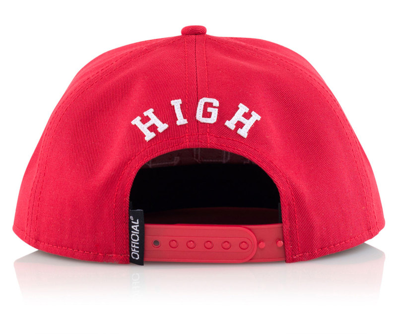 Official Most High Red Cap