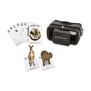 Retrak 4D+ Augmented Reality Cards Animal Zoo + Vr Headset