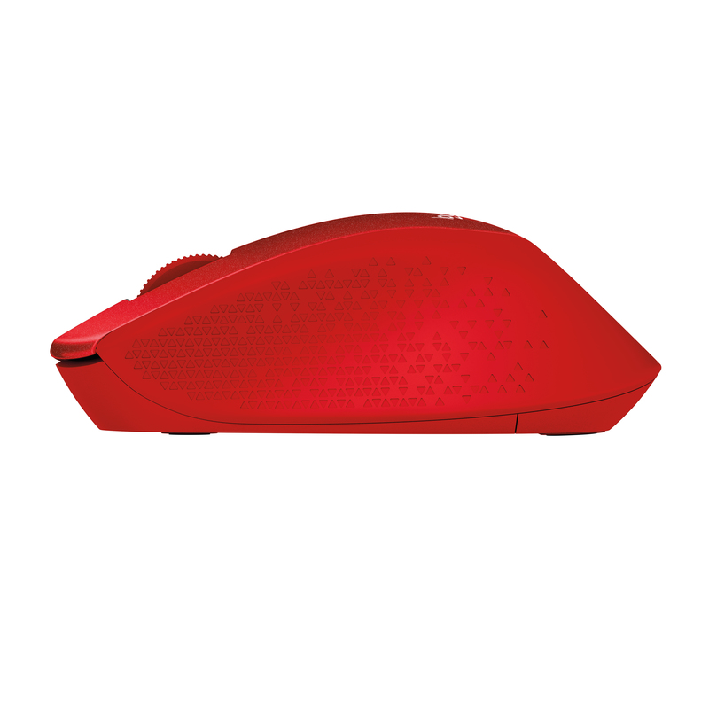 Logitech M330 Wireless Mouse Red