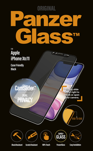 PanzerGlass Camslider Privacy CF Black for iPhone 11