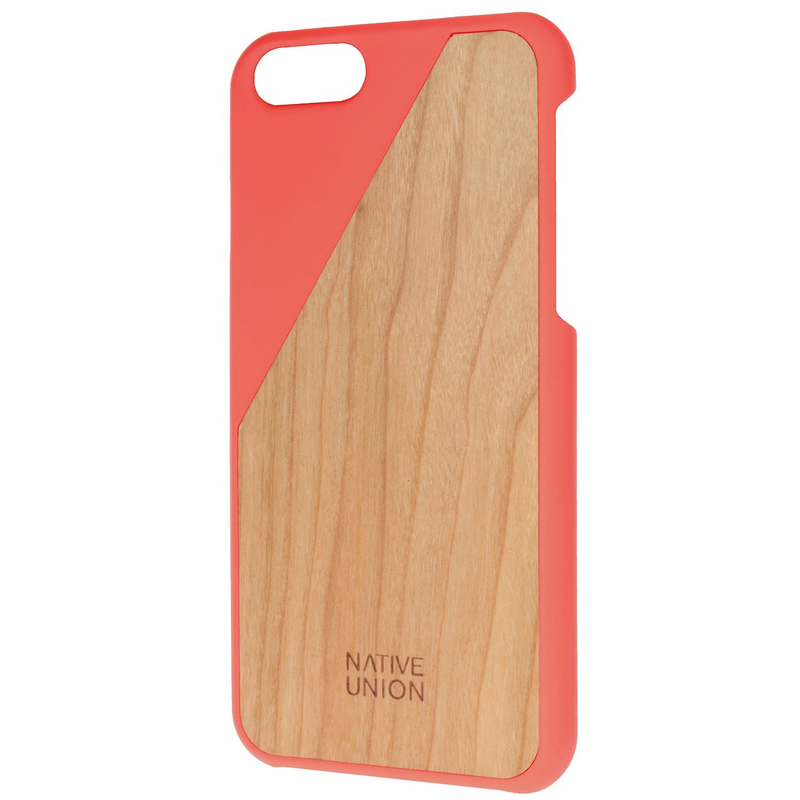 Native Union Wooden Case Coral Iphone 6