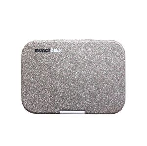 Munchbox Sparkle White Midi5 Artwork Tray White Lunchbox