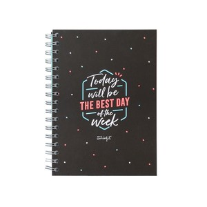 Mrs. Wonderful Today Will Be The Best Day Of The Week Notebook