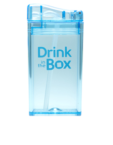 Drink In The Box Blue Re-Usable Juice Box