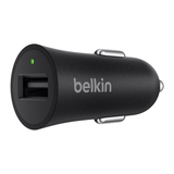 Belkin BOOSTUP USB Type-A to USB Type-C Car Charger Black