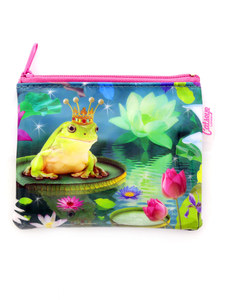 CAT'S EYE FROG PRINCE COIN PURSE
