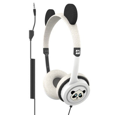 Ifrogz Little Rockers Panda Costume Headphones On Ear Headphones