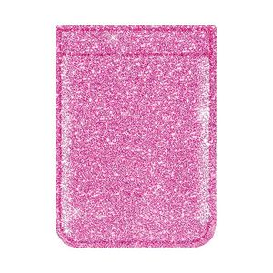 iDecoz Pink Glitter Phone Pocket