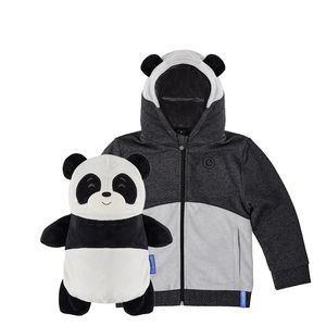 Cubcoats Papo The Panda Unisex 2-In-1 Hoodie