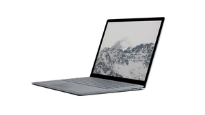 "Microsoft Surface Laptop Platinum 13.5"" Touchscreen 2.50 GHz/ i5-7300U/4 GB/128 GB"