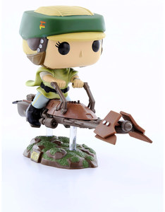 Funko Pop Rides Star Wars Leia on Speeder Bike Vinyl Figure
