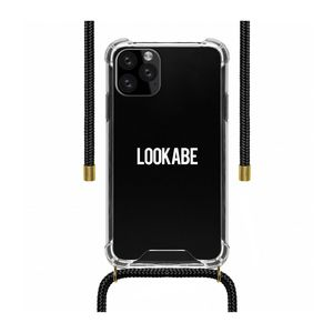 Lookabe Necklace Clear Case + Black Cord for iPhone 11 Pro
