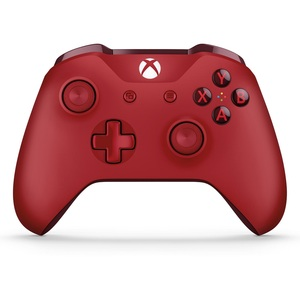 Microsoft Wireless Xbox One Controller Red