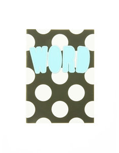 House Of Holland B6 Fabric Notebook