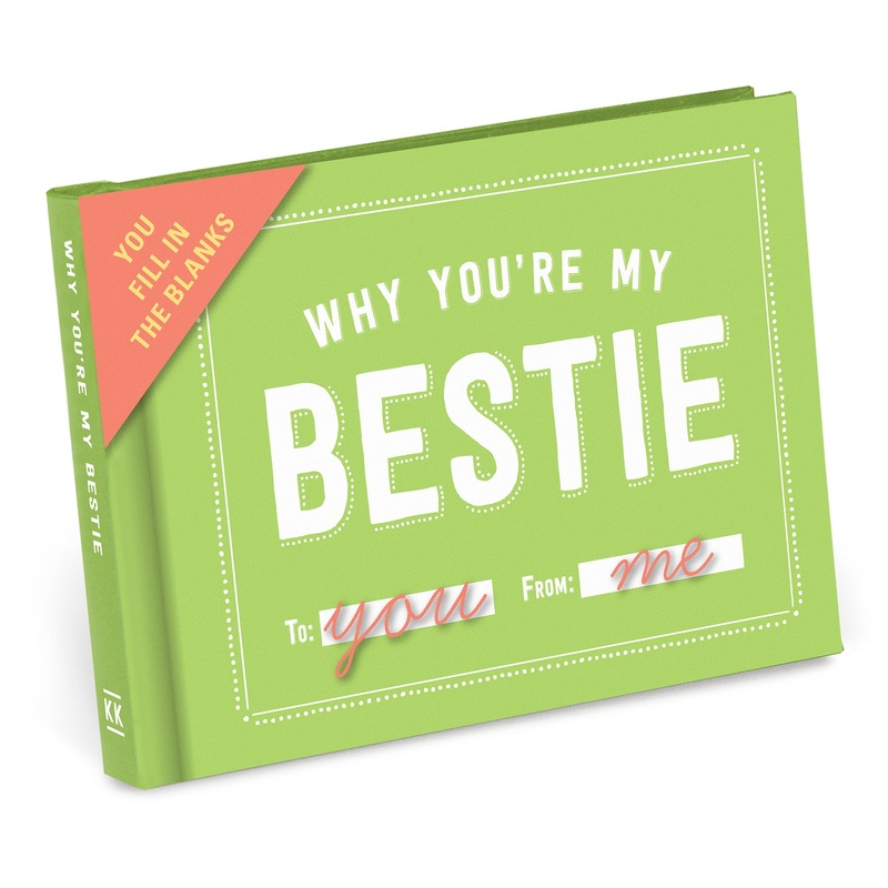 Knock Knock Bestie Journal Notebook