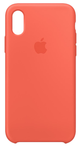 APPLE SILICONE CASE NECTARINE FOR IPHONE XS